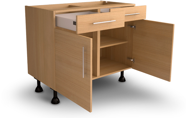 Cabinet specification innova kitchens exclusive for Service void kitchen units